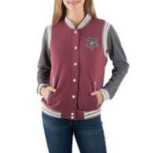 Harry Potter Hogwarts Juniors Varsity Jacket Size Medium